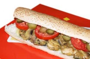 طرز تهیه ساندویچ فیله مرغ با پنیر